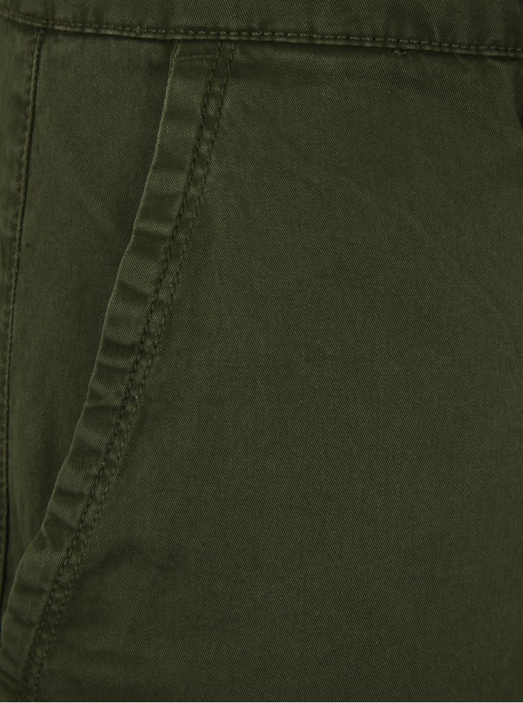 Tmavě zelené kraťasy ONLY & SONS Holm