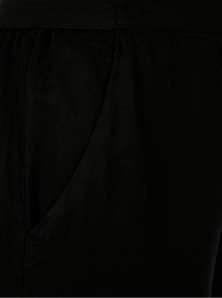 Černé culottes s rozparky VILA Joannes
