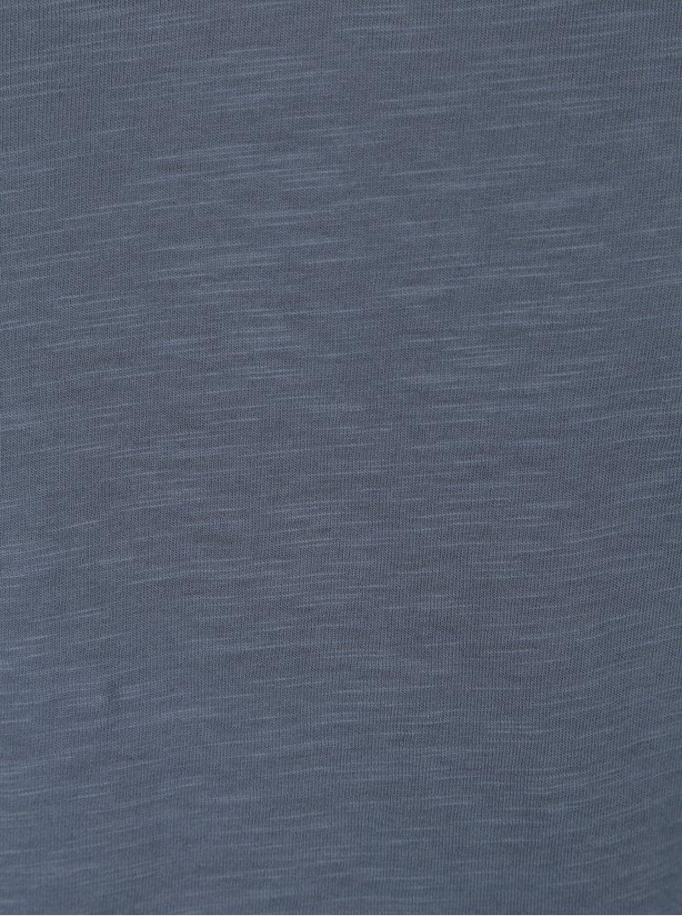 Modré žíhané tričko Jack & Jones Premium Benjamin