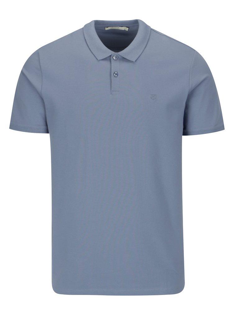 Modré polo tričko Jack & Jones Premium Belfast