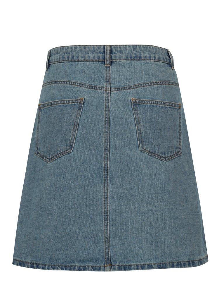 Modrá džínová sukně Noisy May Sunny
