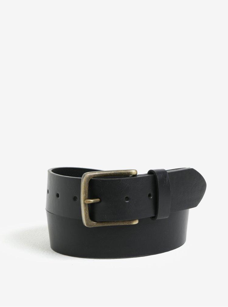 Sada dvou kožených pásků v černé a hnědé barvě Burton Menswear London