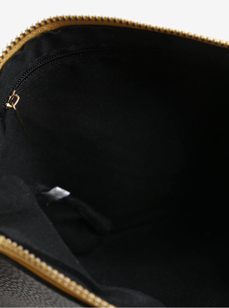 Černo-hořčicová crossbody kabelka Claudia Canova Eloise