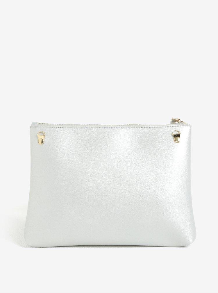 Crossbody kabelka ve stříbrné barvě Claudia Canova Eloise
