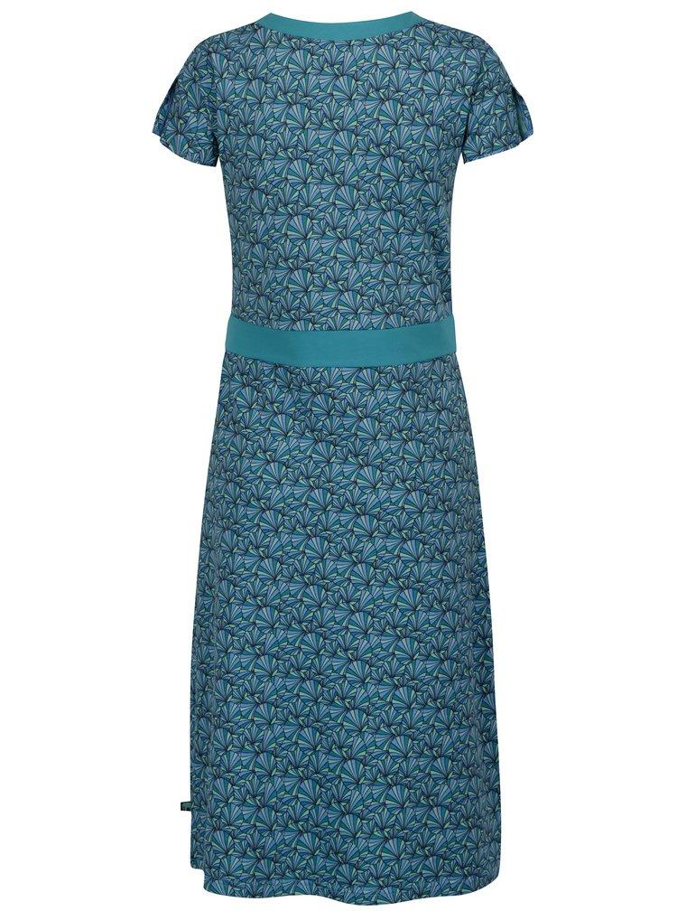 Tyrkysové vzorované šaty Tranquillo Kaya