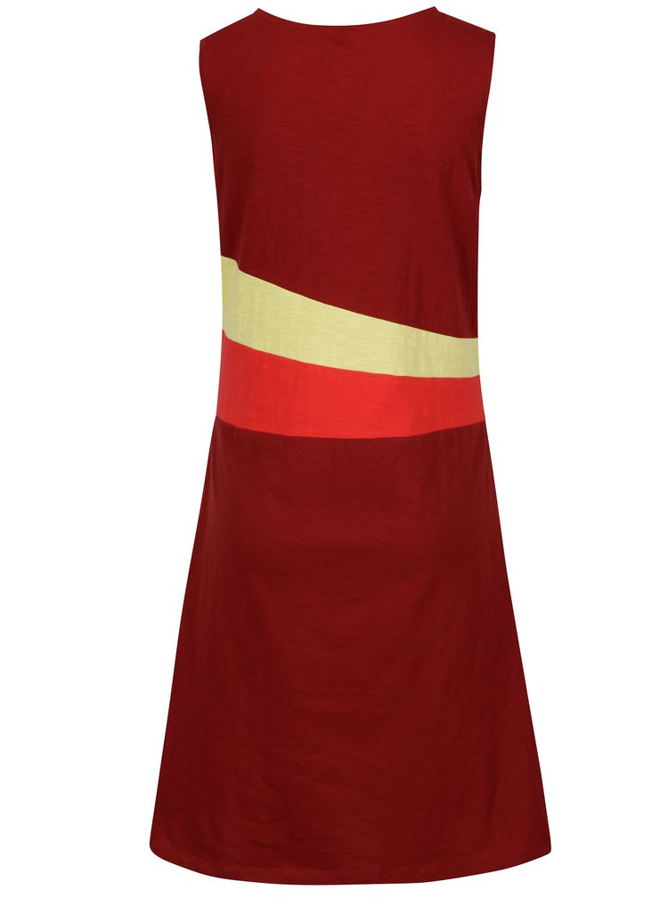 Červeno-vínové šaty Tranquillo Verna