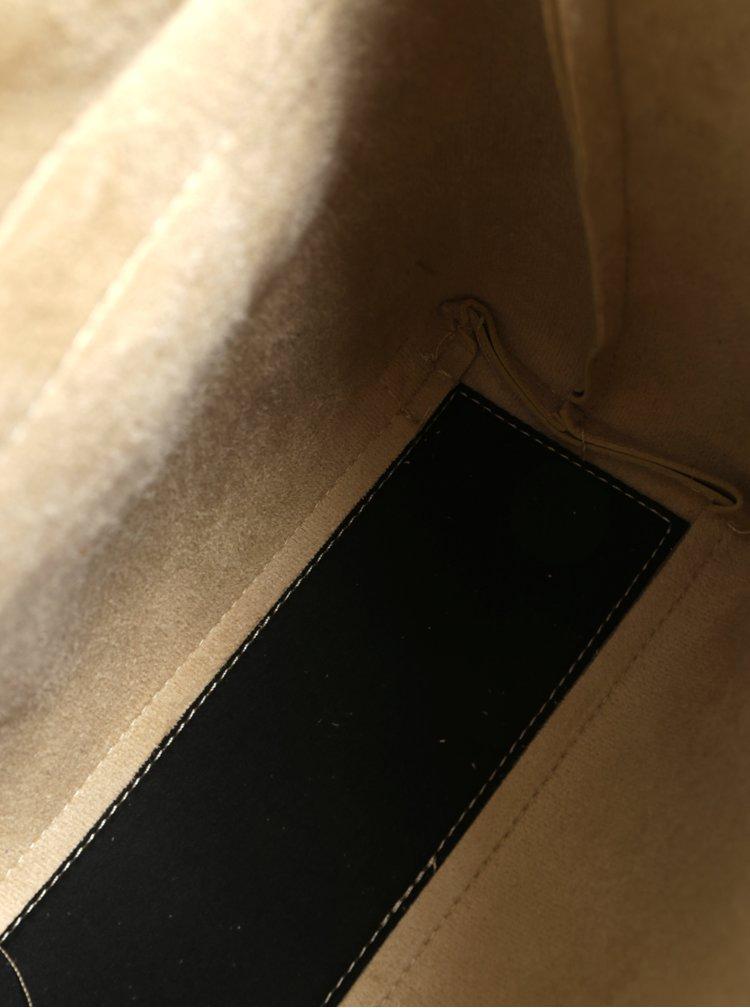 Malý batoh/crossbody kabelka ve zlaté barvě Claudia Canova Kiona