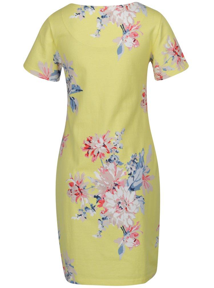 Žluté květované šaty Tom Joule Riviera Print