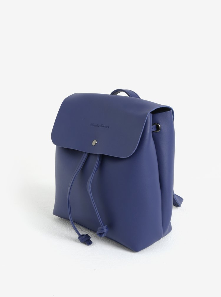 Modrý malý batoh/crossbody kabelka Claudia Canova Kiona