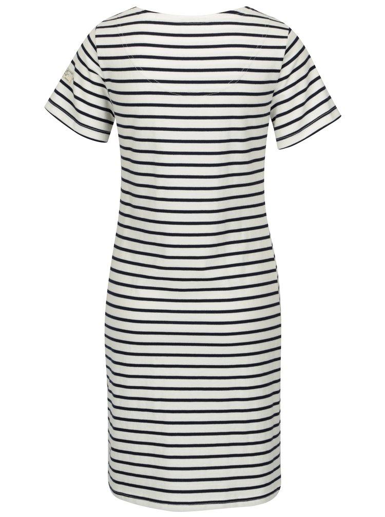 Krémové pruhované šaty Tom Joule  Riviera