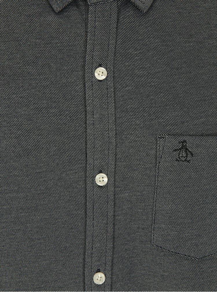 Modrá žíhaná košile Original Penguin Oxford