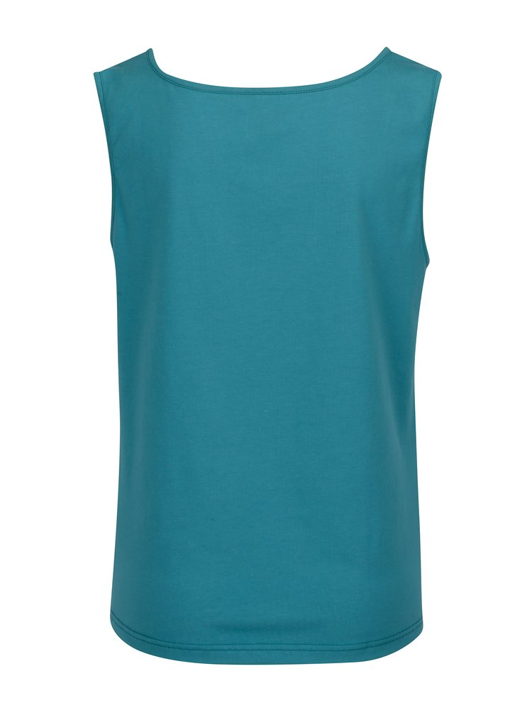 Top bleumarin cu drapaje si print Tranquillo Laelia