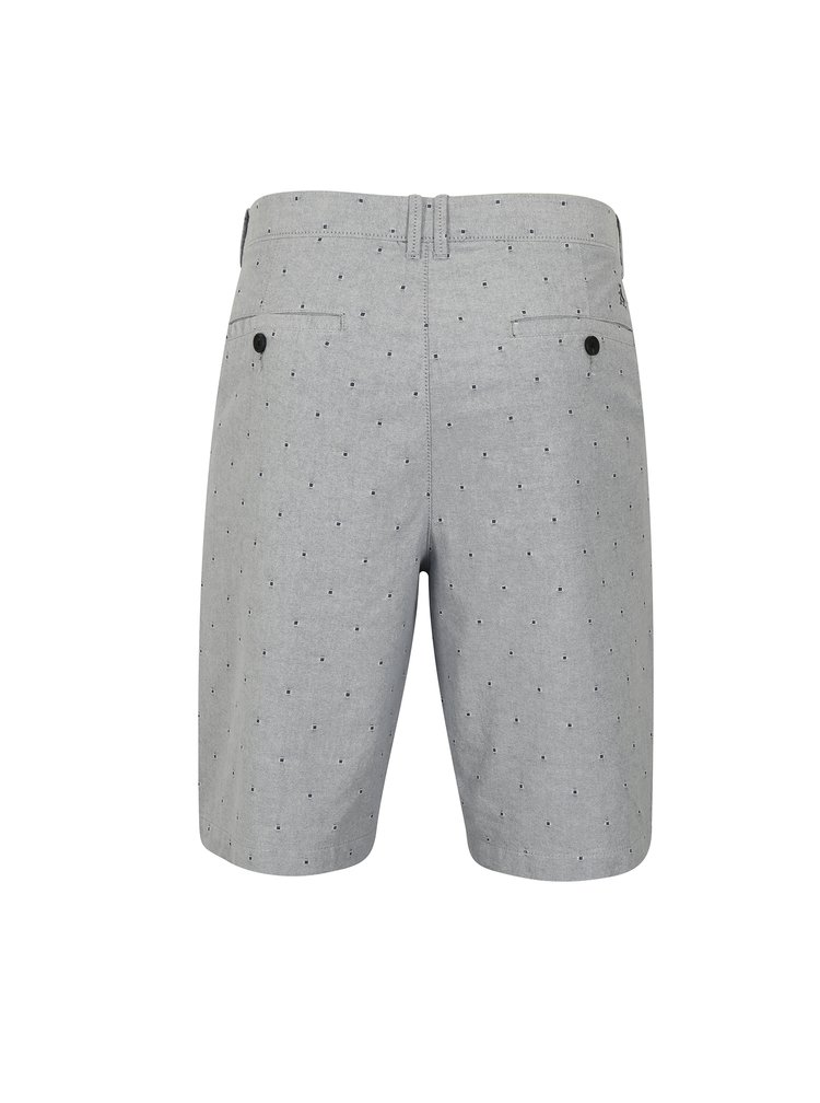 Pantaloni scurti chino bleu cu model discret - Original Penguin Dobby