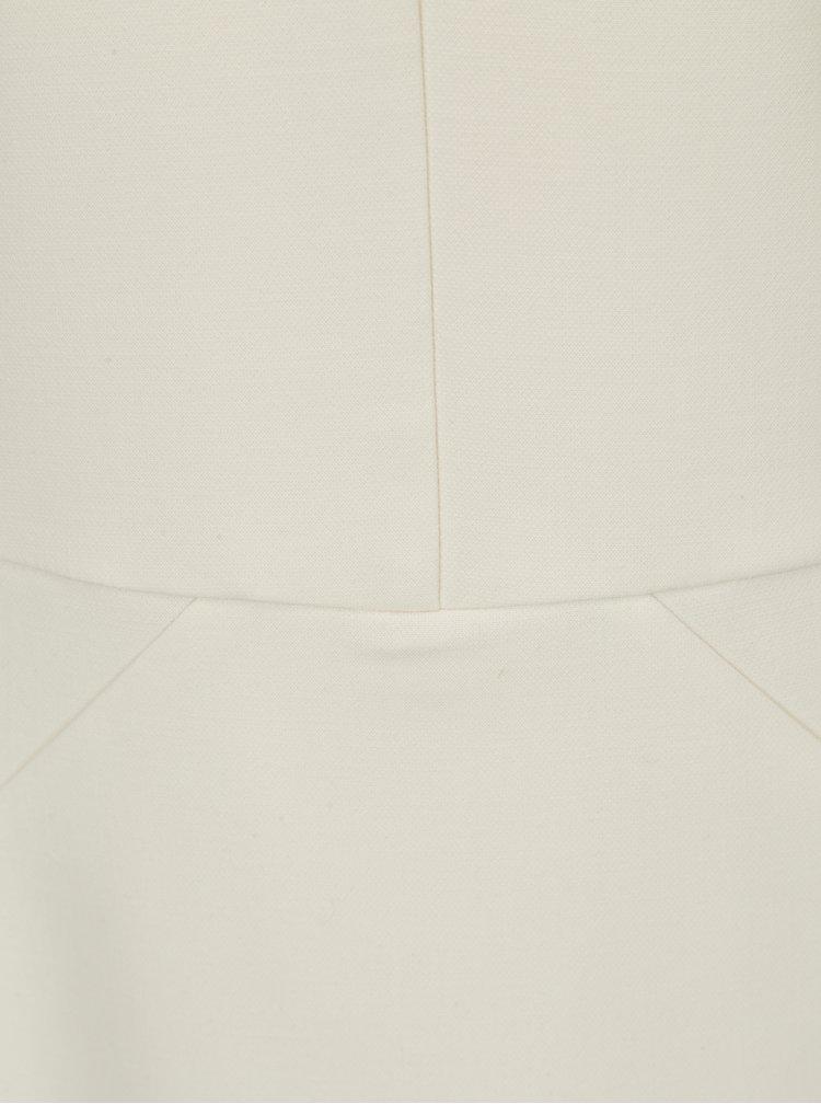 Krémové šaty Selected Femme Adelyn