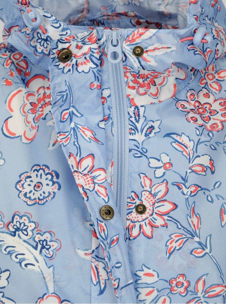 Modrá dámská květovaná pláštěnka Tom Joule Golightly