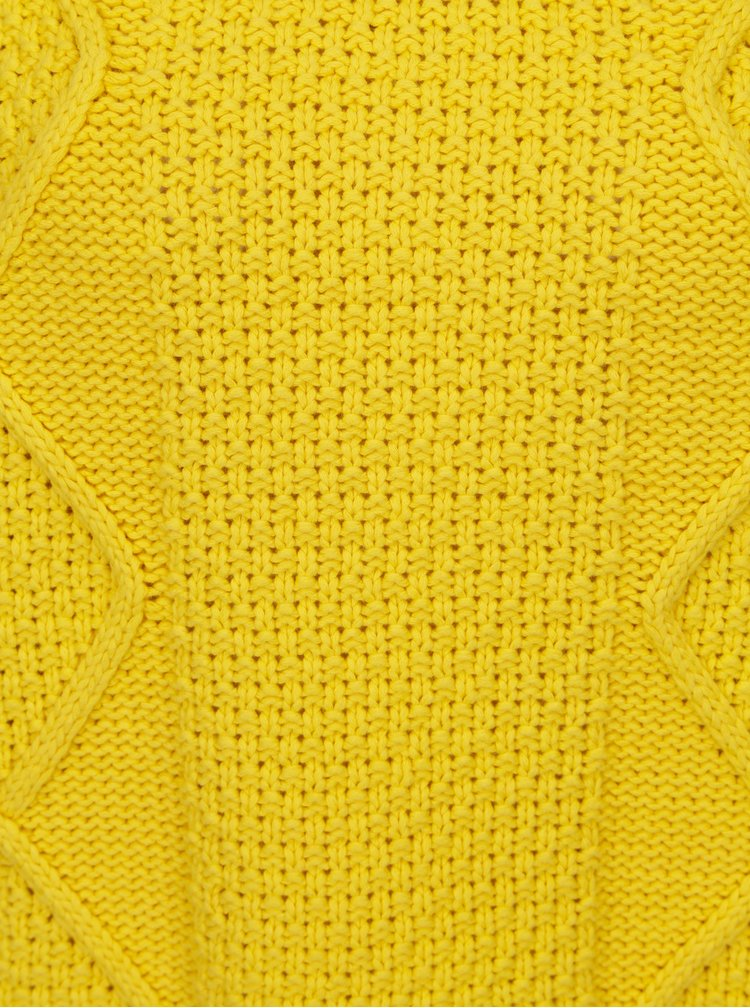 Žlutý svetr Selected Femme Kasia