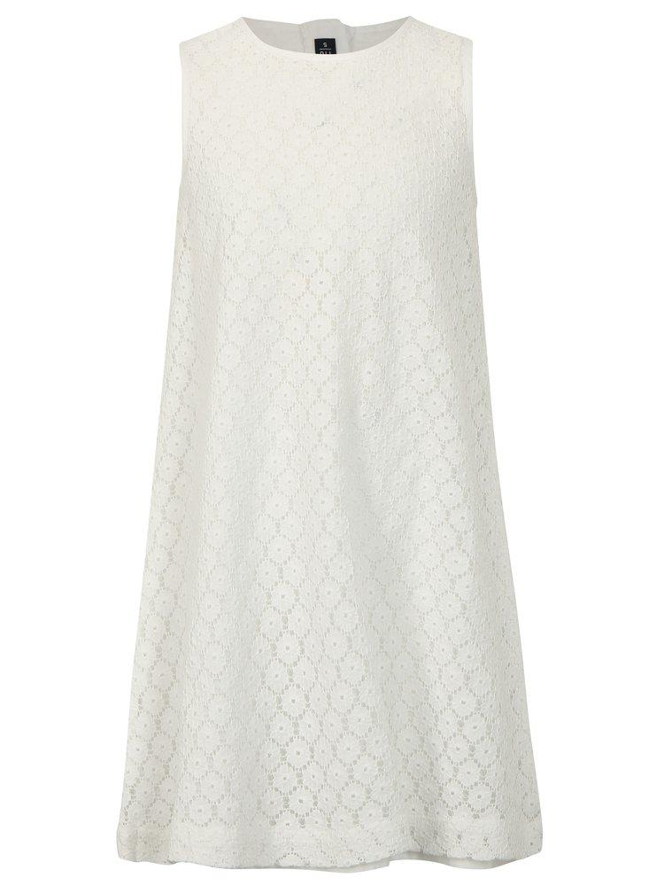 Bílé krajkové šaty Blue Seven