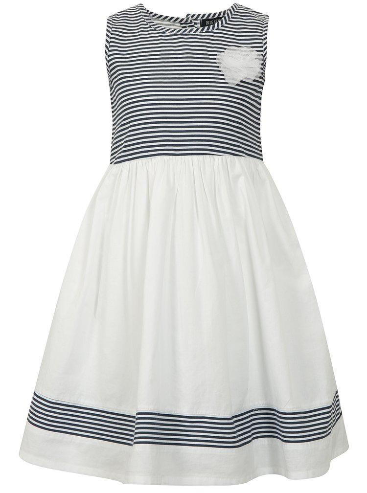 Modro-bílé pruhované šaty Blue Seven