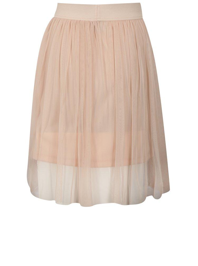 Světle růžová holčičí tylová sukně Blue Seven