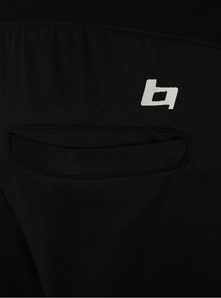 Černé tepláky s pruhy Blend