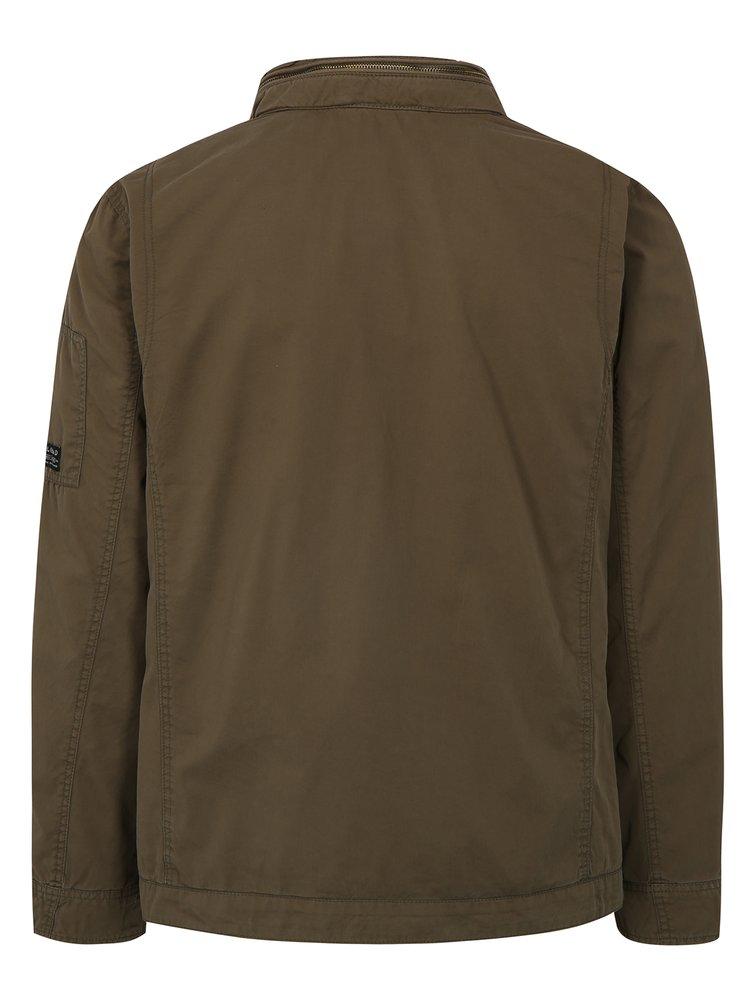 Zelená bunda se skrytou kapucí Blend