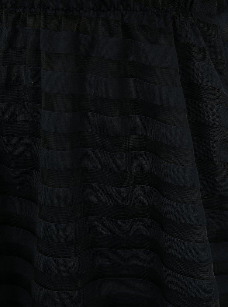 Tmavě modrá pruhovaná sukně name it Fikaja