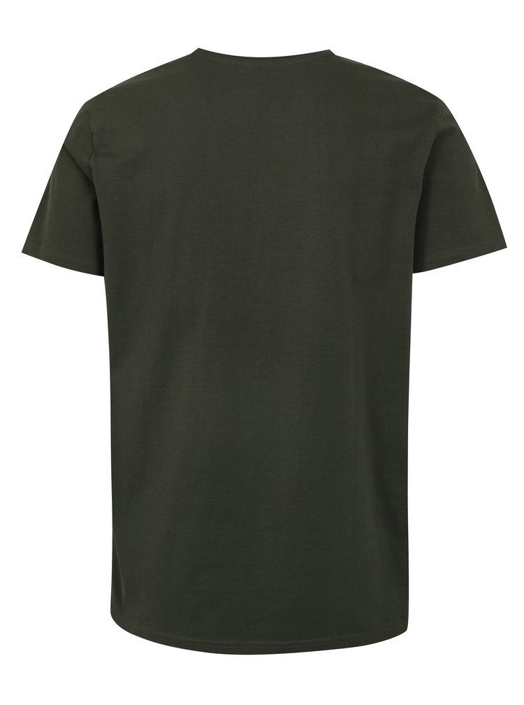 Zelené pánské tričko LOAP Buky