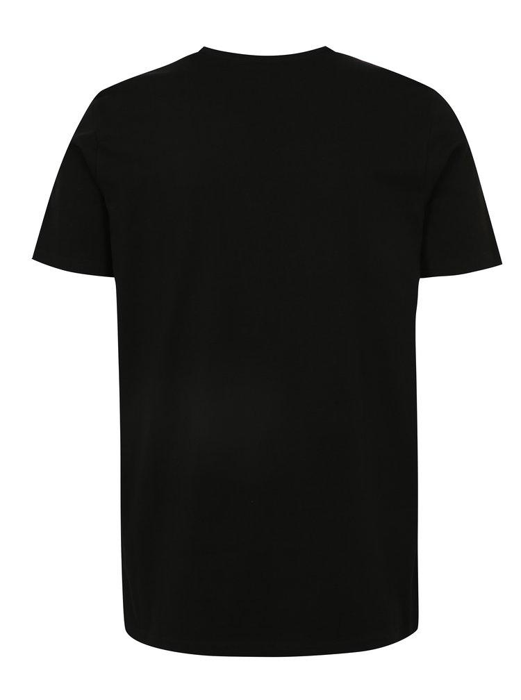 Černé pánské tričko LOAP Baston