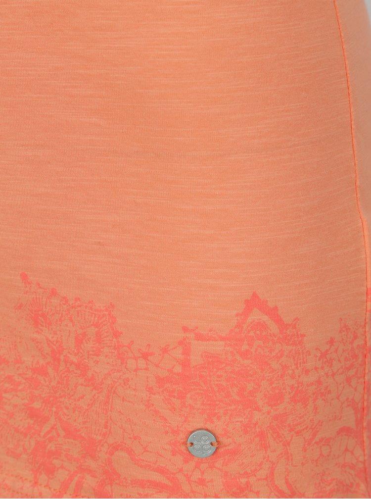 Oranžové dámské tílko s potiskem LOAP Bale
