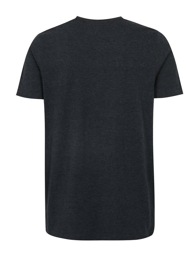 Tricou bleumarin cu logo LOAP Babar