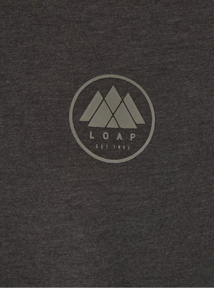 Tricou gri cu logo LOAP Babar
