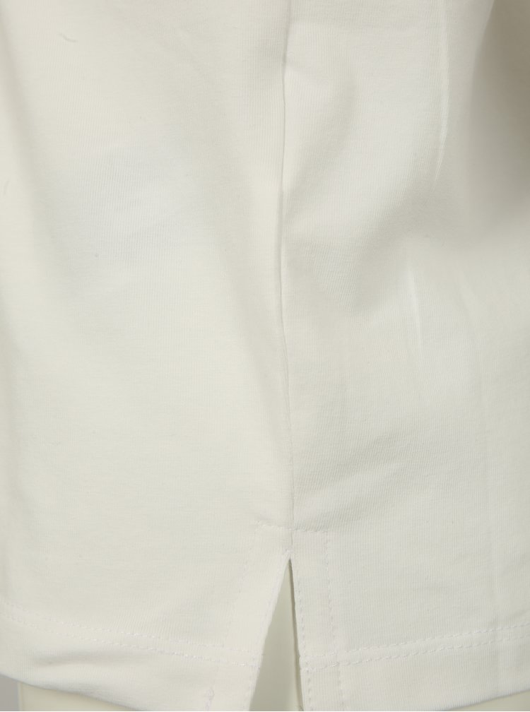Krémové holčičí tričko s magickými flitry name it Fille