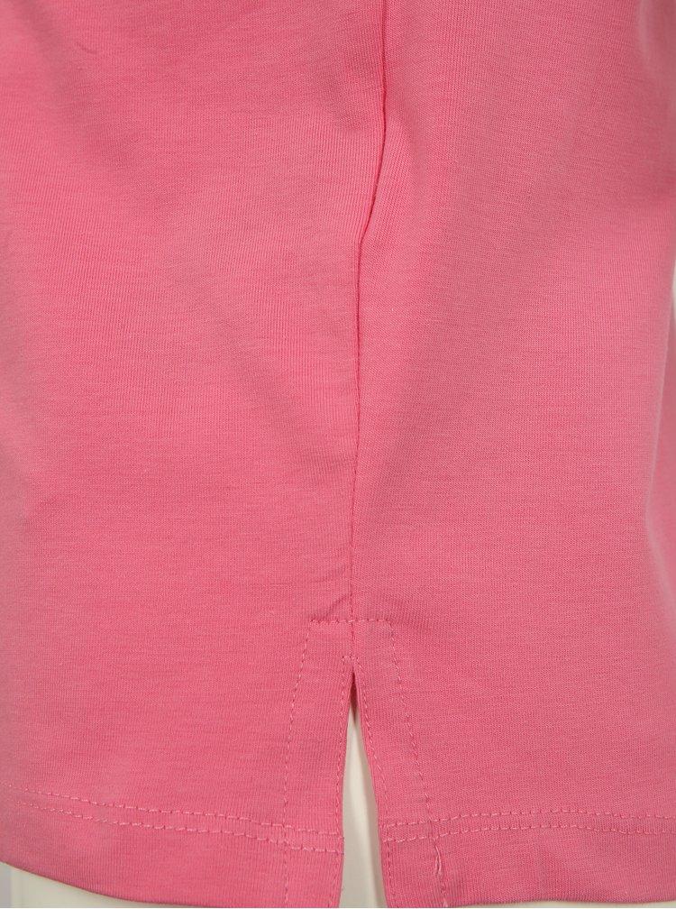 Růžové holčičí tričko s magickými flitry name it Fille