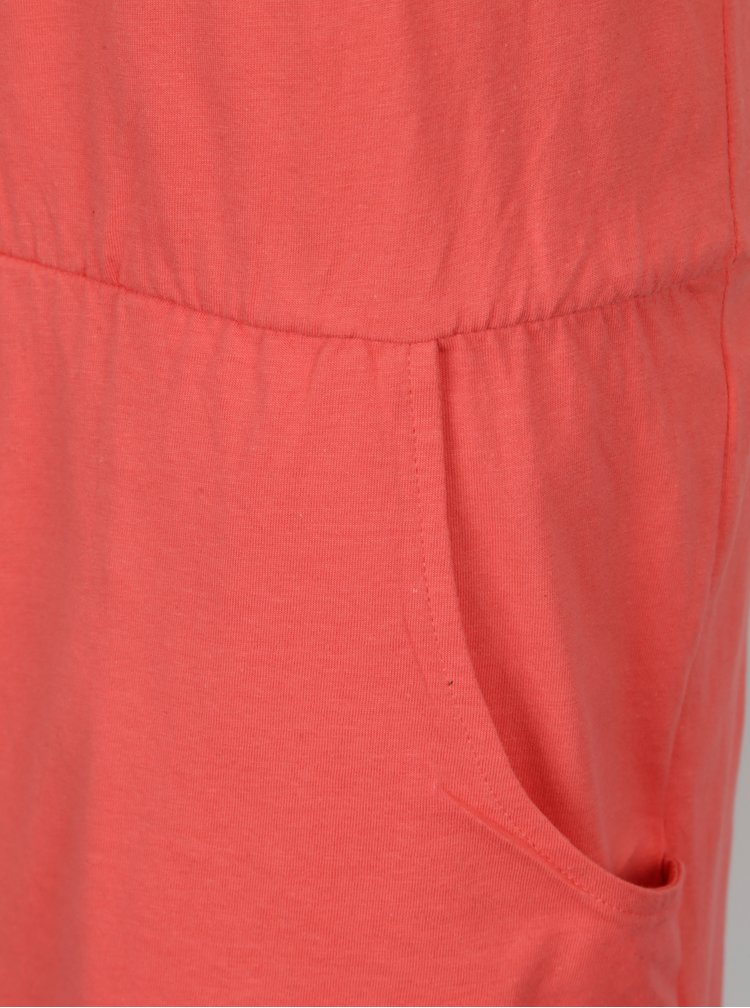 Korálové šaty s kapsami LOAP Alara