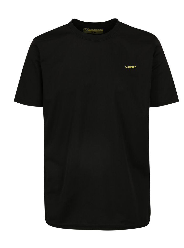 Černé pánské funkční tričko LOAP Messi