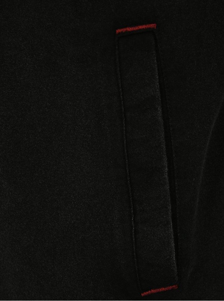 Černá pánská mikina s kapucí LOAP Dahl