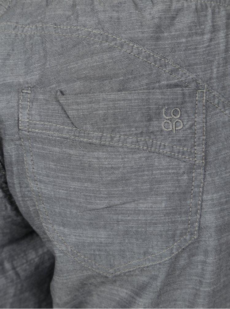Šedé dámské 3/4 kalhoty LOAP Nairine