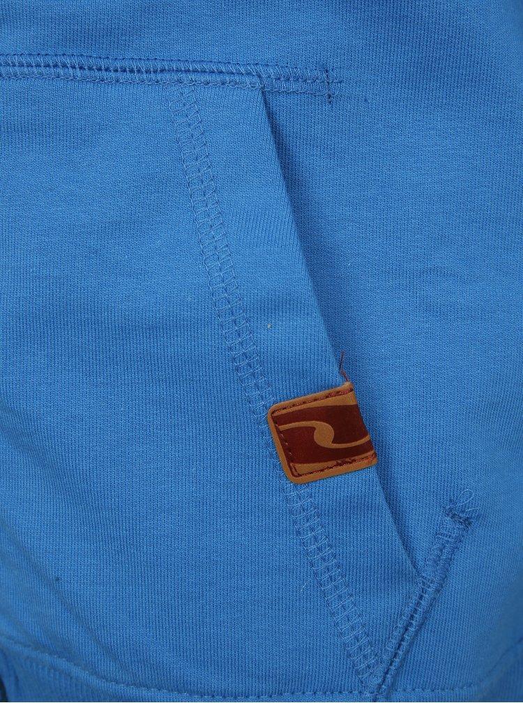Modrá klučičí mikina s kapucí LOAP Huris