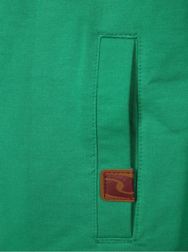 Zelená klučičí mikina s potiskem LOAP Hauser
