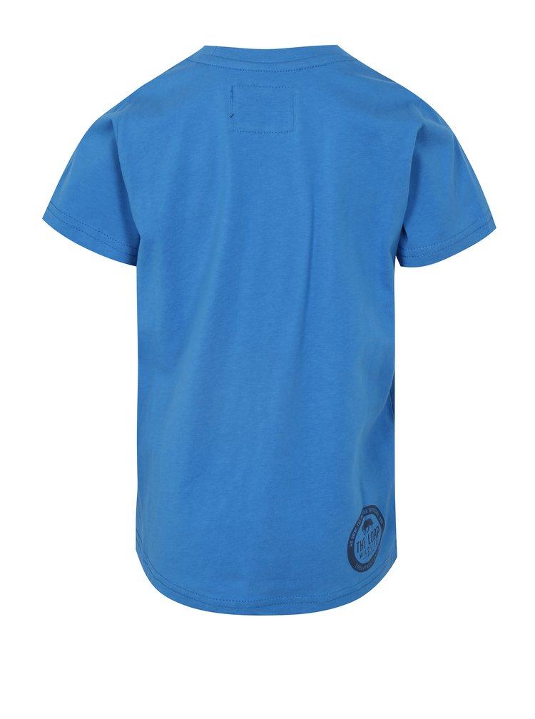 Modré dětské tričko s potiskem LOAP Ibby