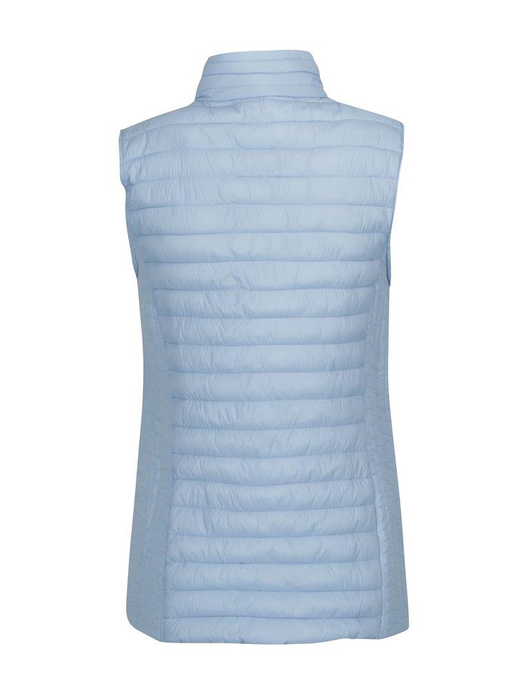 Světle modrá prošívaná vesta Yest