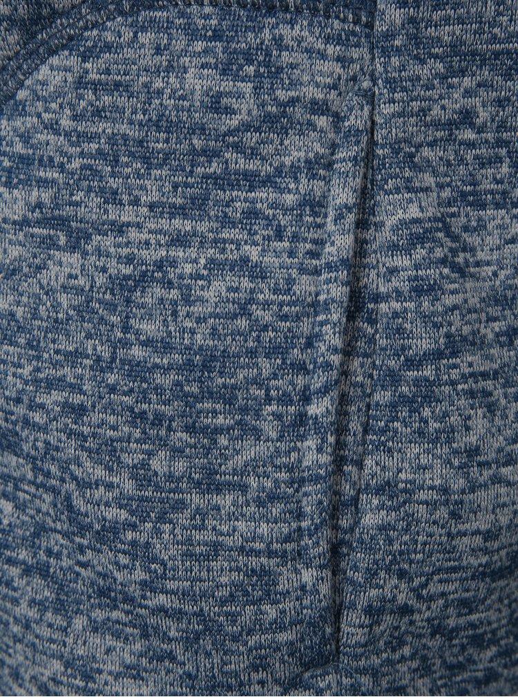 Modrá dětská žíhaná mikina LOAP Krispin