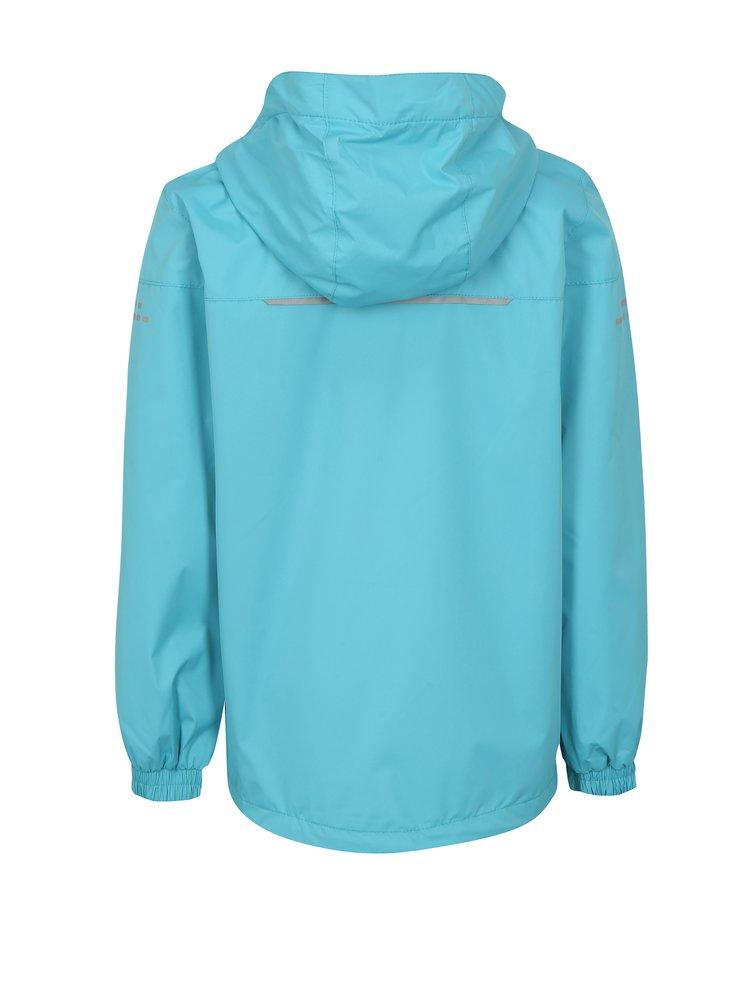 Světle modrá dětská voděodolná bunda LOAP Veren