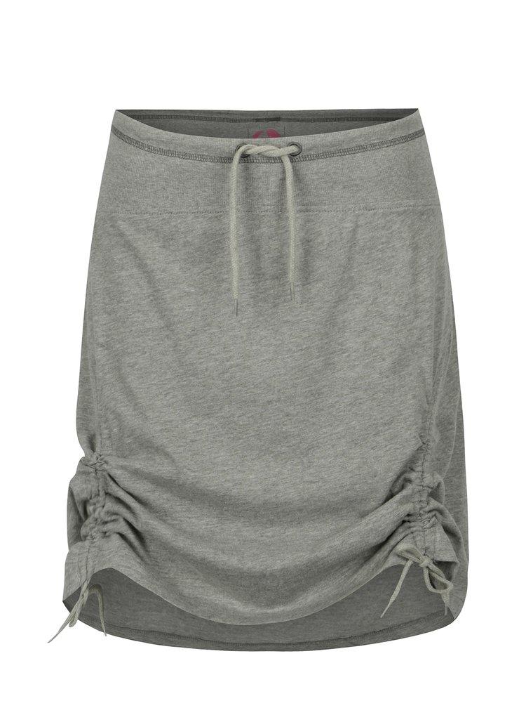 Šedá žíhaná sukně LOAP Niabi