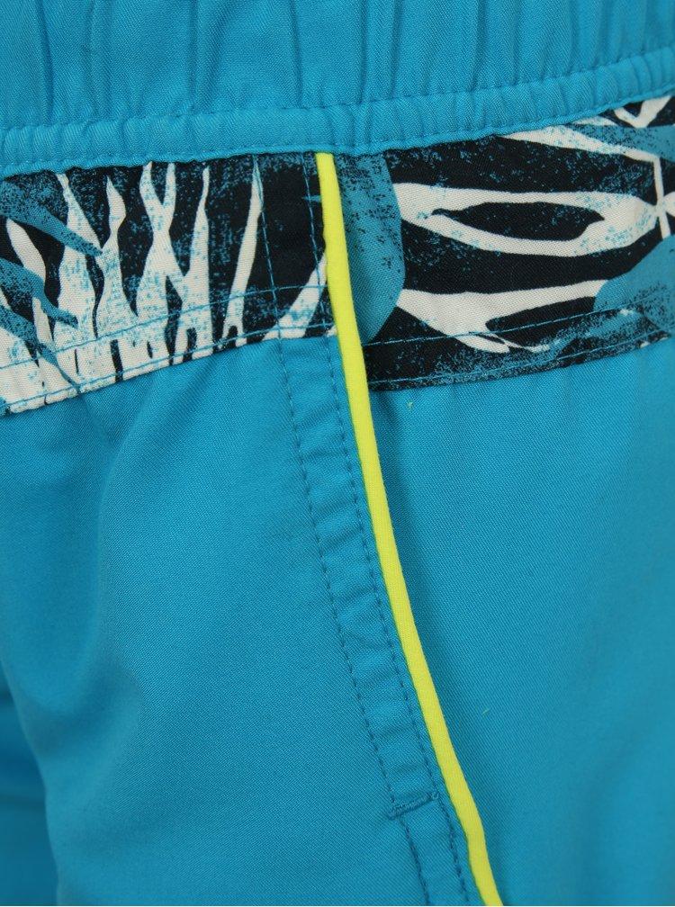 Modré klučičí plavky s havajským vzorem name it Mzoni