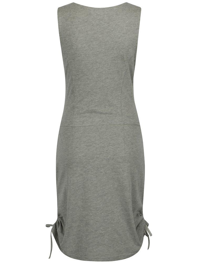 Sivé melírované šaty LOAP Nela