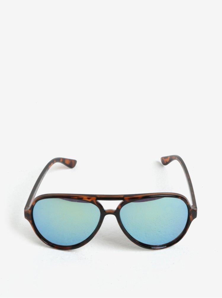 Hnědé dětské sluneční brýle name it Sun