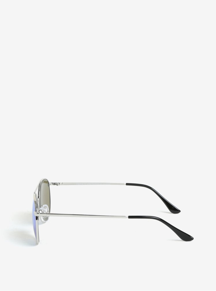 Dětské sluneční brýle ve stříbrné barvě name it Sun