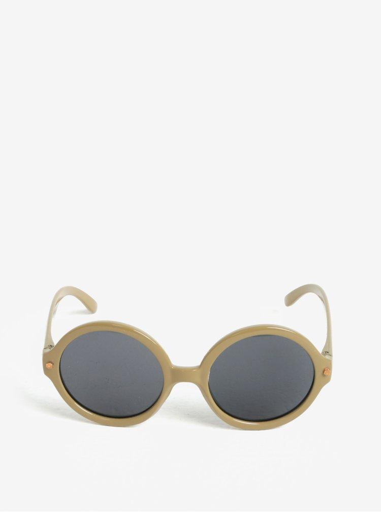 Světle hnědé holčičí sluneční brýle name it Sun