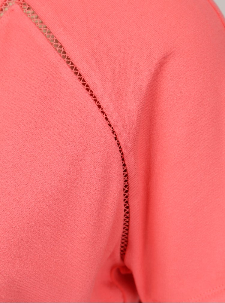 Růžové tričko s krátkým rukávem Yest